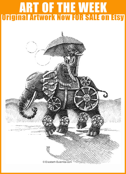 Buy the Original at Etsy: Mechanical Elephant!