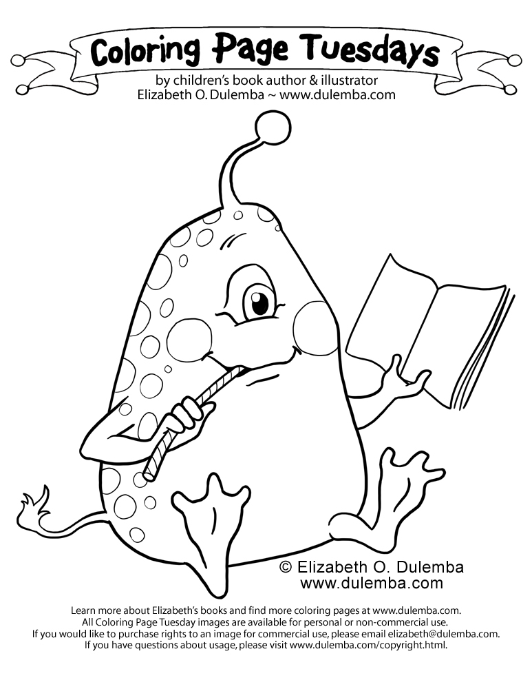 Coloring Page Tuesday - Far Out Reads.