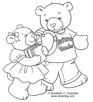 dulemba Coloring Page Tuesday  BacktoSchool