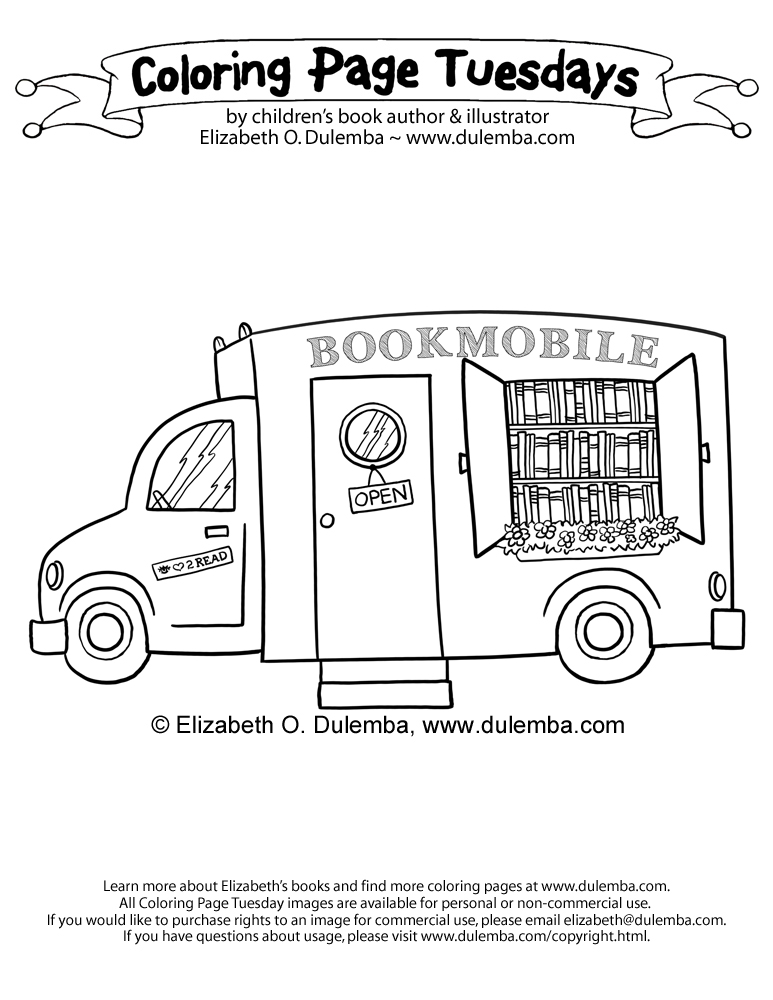 coloring page tuesday by elizabeth o dulemba january 7 2014