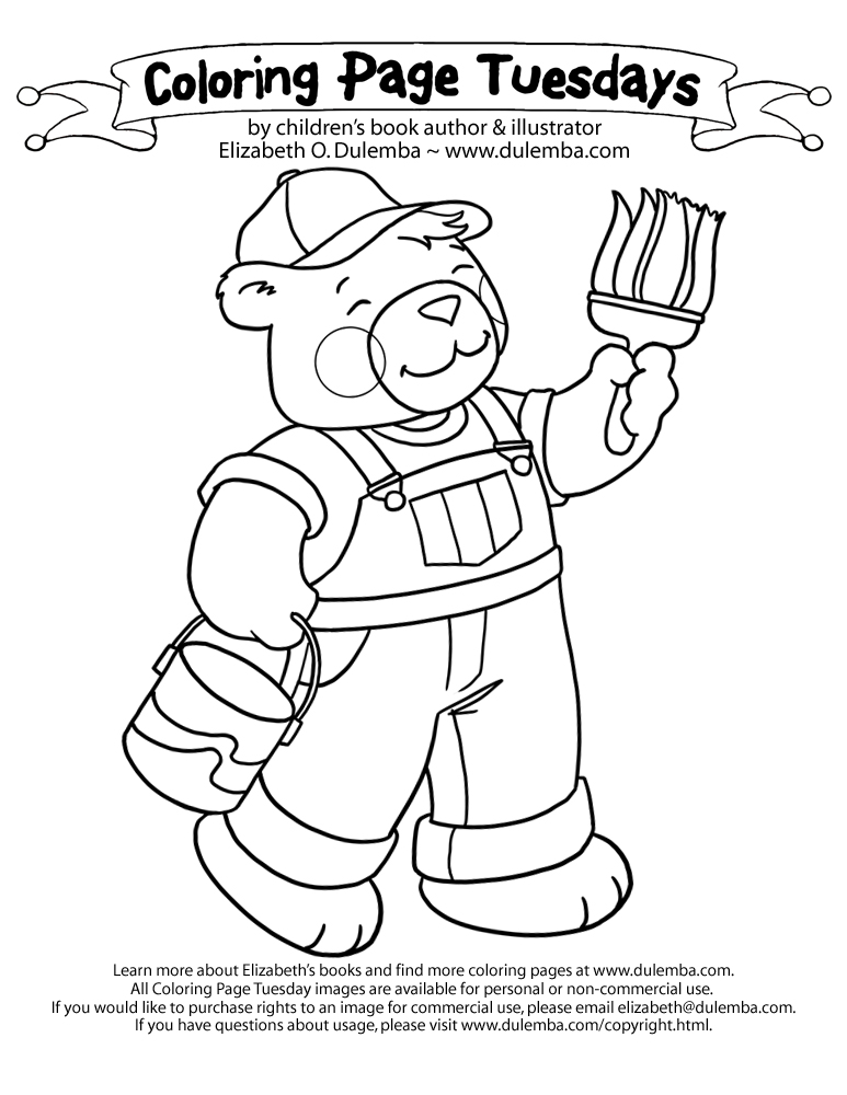 i miss daddy coloring pages - photo#15