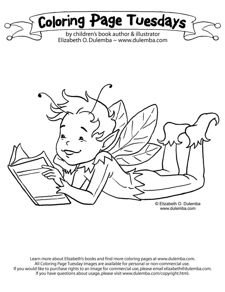 Many of you have said you love my Reading Fairy image, but wish ...