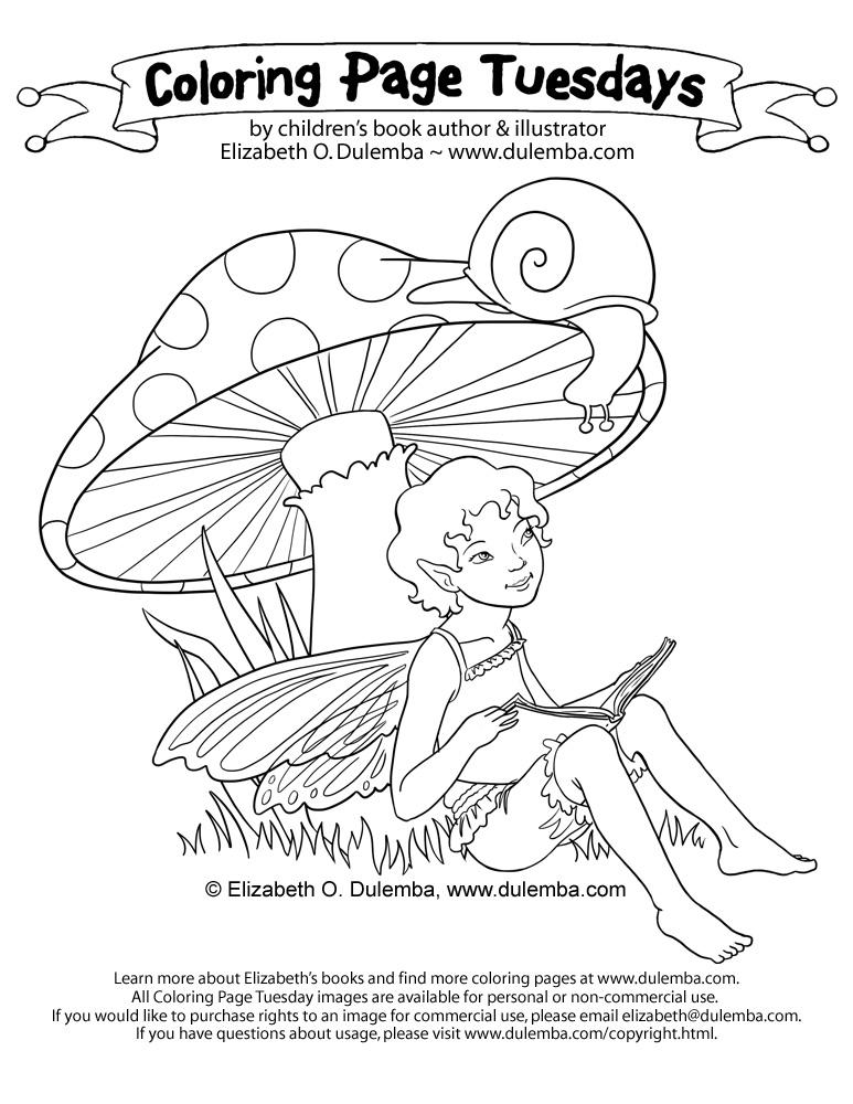 Dulemba Coloring Page Tuesday