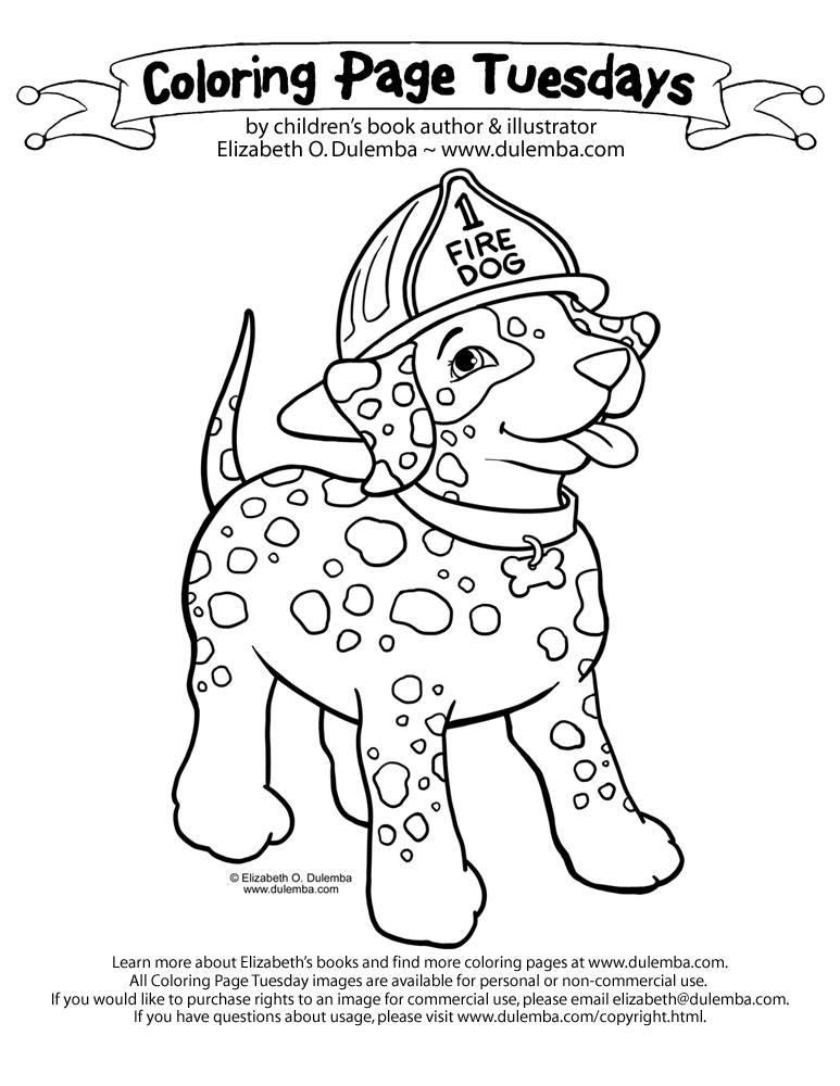 Be careful with fire or fire dog will have to lick you silly hm im a little late on fulfilling this coloring page