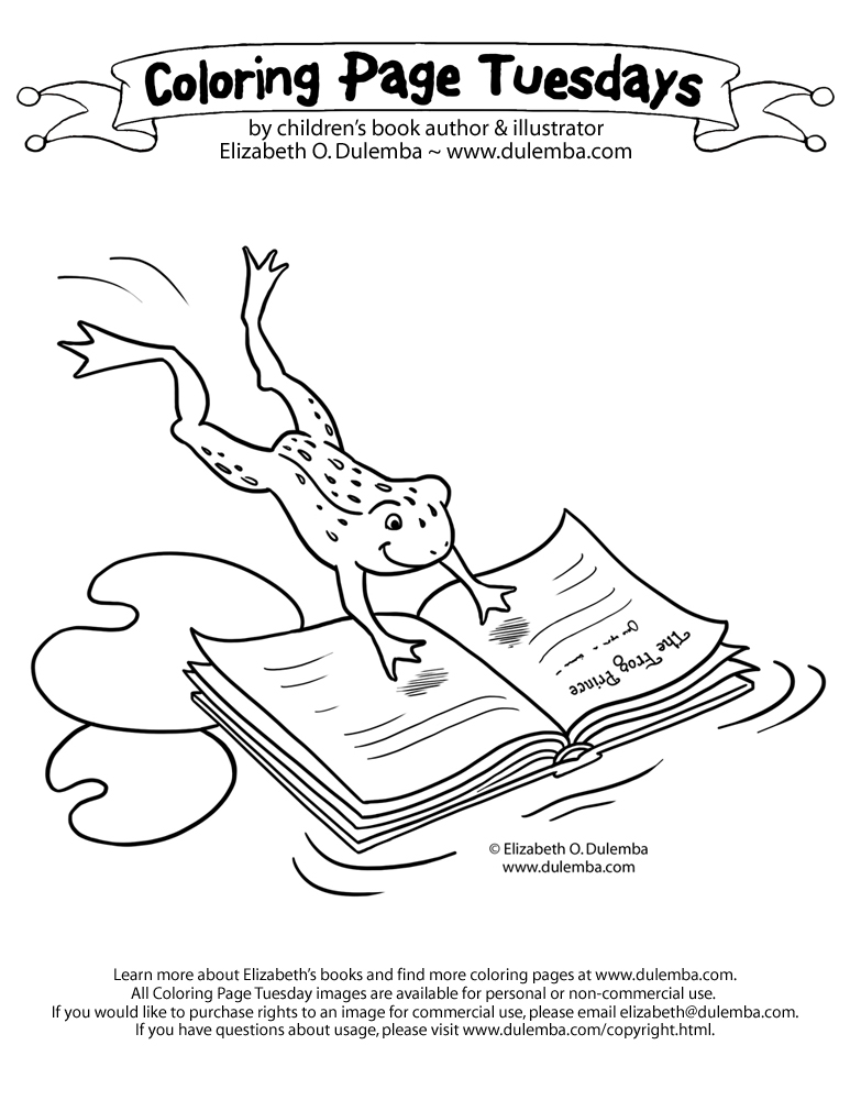 rules for the library coloring pages