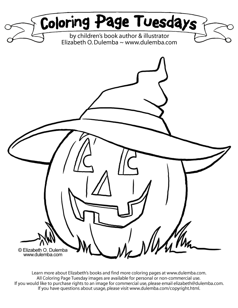 Free Halloween Pumpkins Coloring Pages!