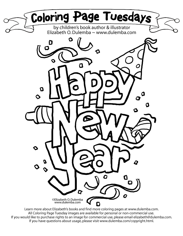 Free Coloring Pages Of January 10 Numerals