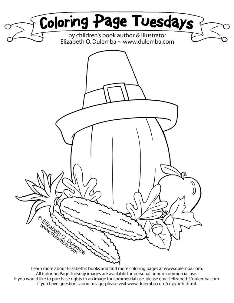 Harvest Corn Coloring Page Coloring Page Tuesday