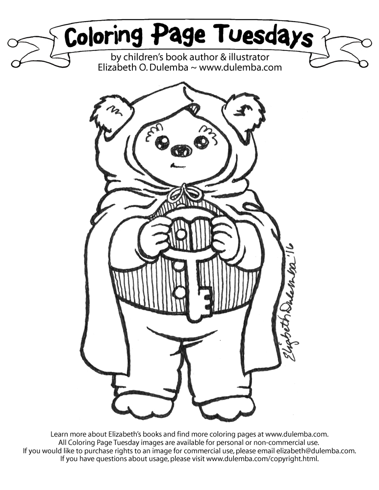 ewoks coloring pages dulemba: Coloring Page Tuesday   Hobbit Ewok ewoks coloring pages