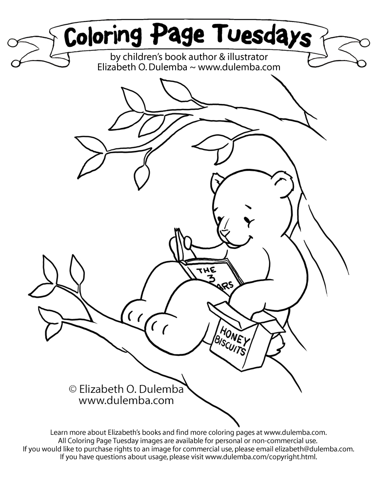 biscuit coloring pages - photo#33