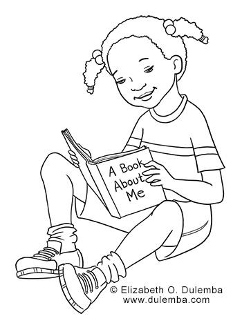 dulemba: Coloring Page Tuesday Jada Reads