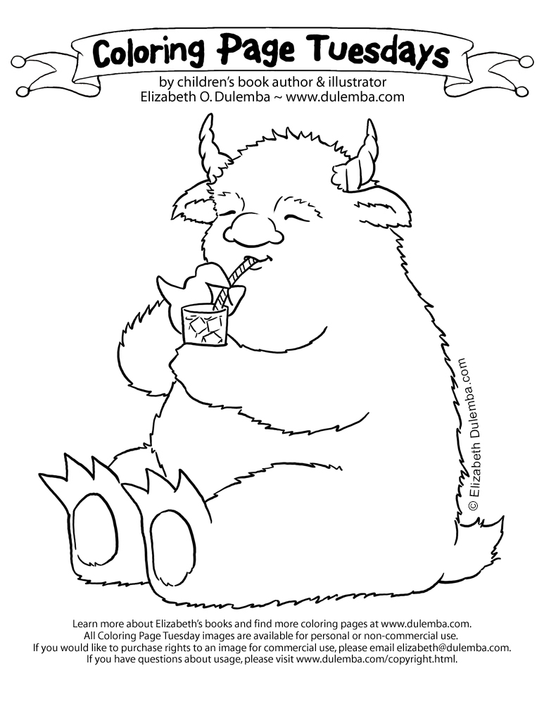 lemonade coloring page.html