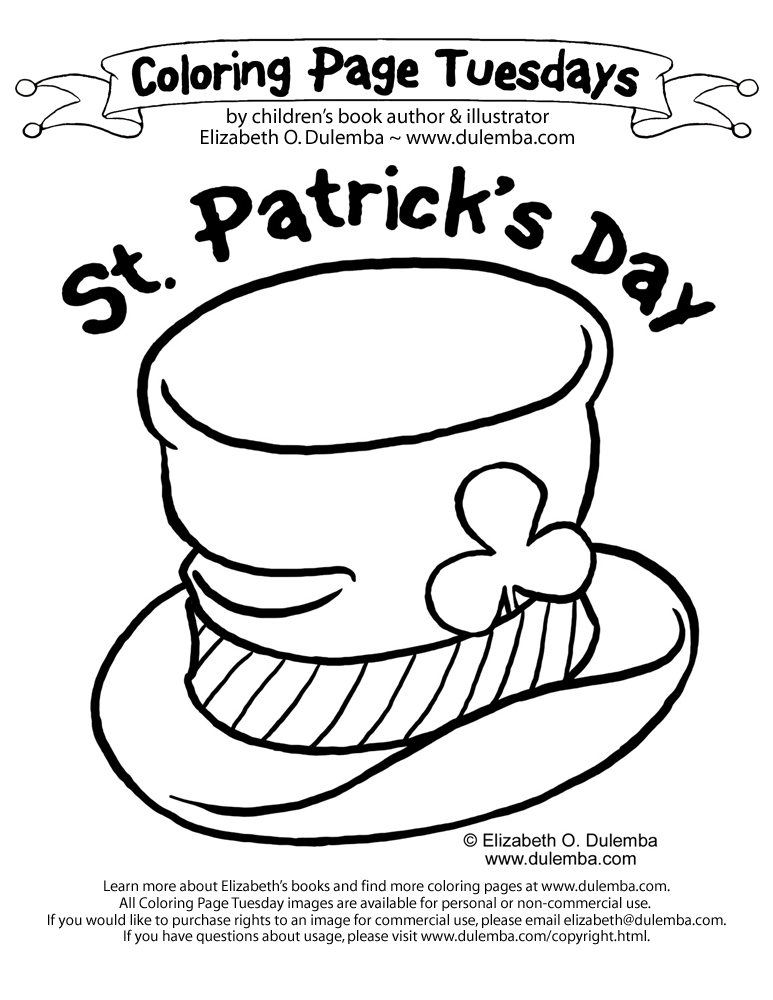 Free Printable Leprechaun St. Patrick's Day Coloring Page - Simple ... | 1000x773