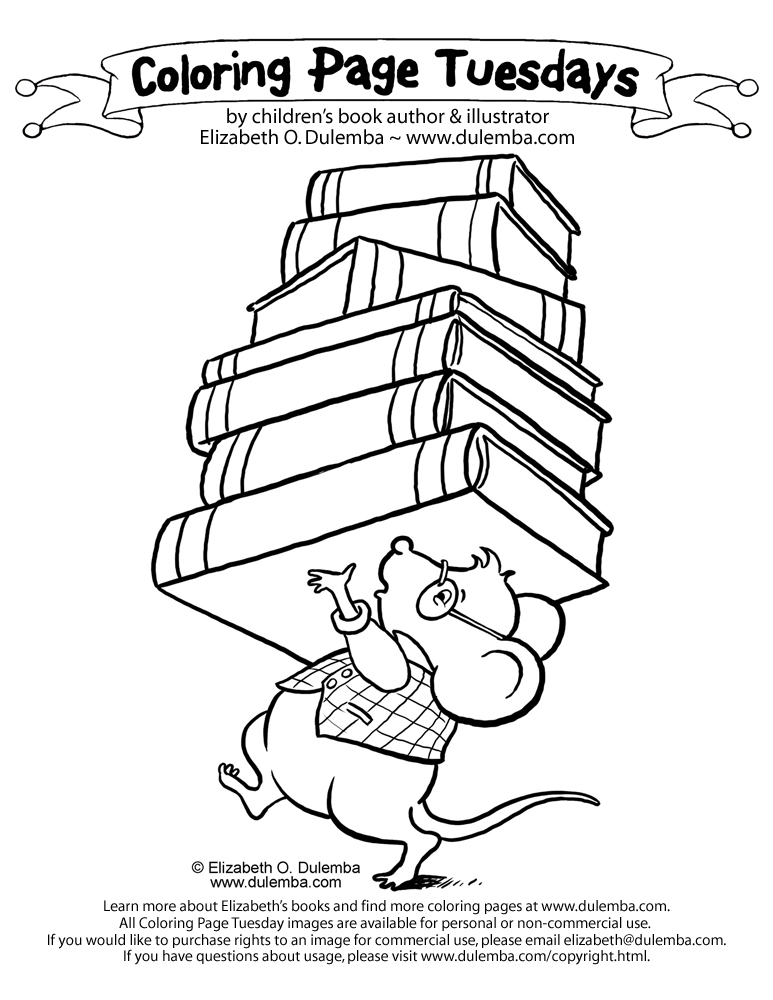 coloring page of a mouse.html