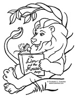 Mouse Coloring Pages Picture - Whitesbelfast | 200x155