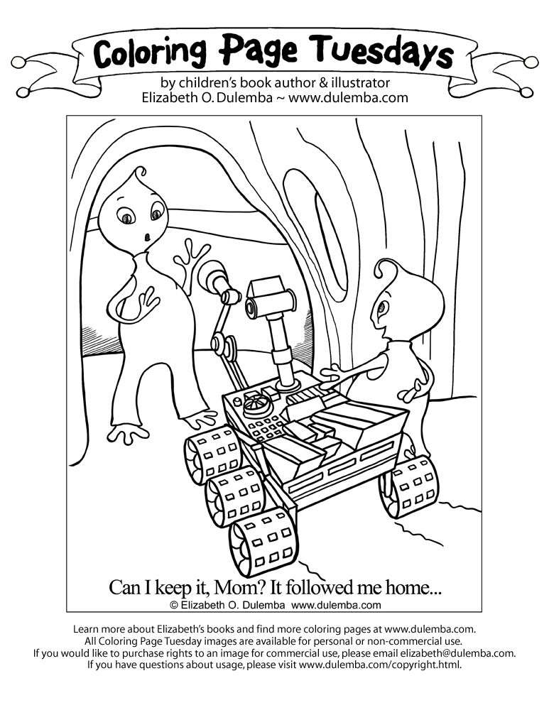 mars coloring pages.html