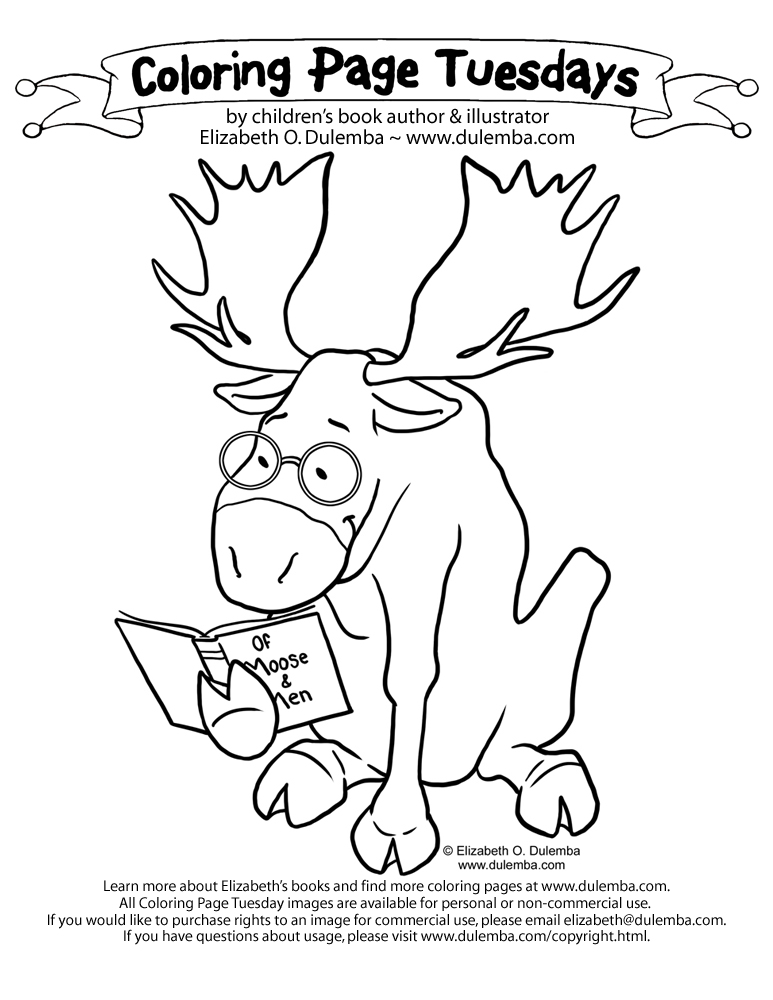 dulemba  coloring page tuesday