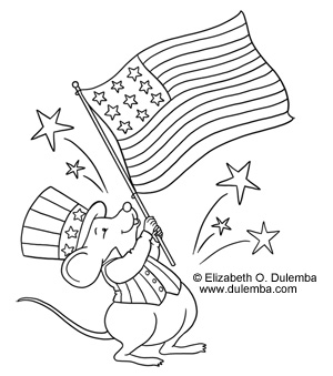Country Coloring Pages