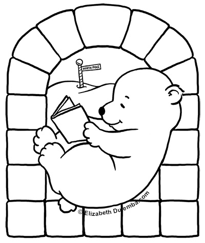 Free Polar Bear Pictures To Color, Download Free Clip Art, Free ...   475x400