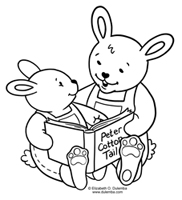 Here Come The Bunnies Easter Is Just Around Corner And We Must Embrace These Fuzzy Wittle Bundles Of Joy Especially When They Love Books Too