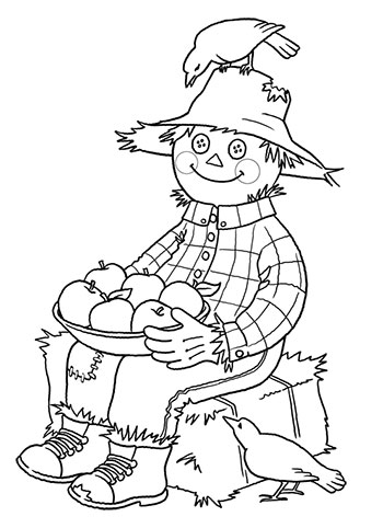 Galerry coloring pages for adults fall