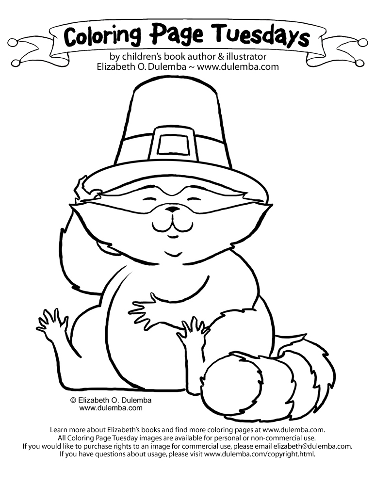 racoon coloring page.html