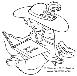 Coloring Page Tuesday   Young Reader