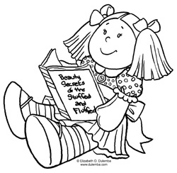 baby doll coloring pages printable