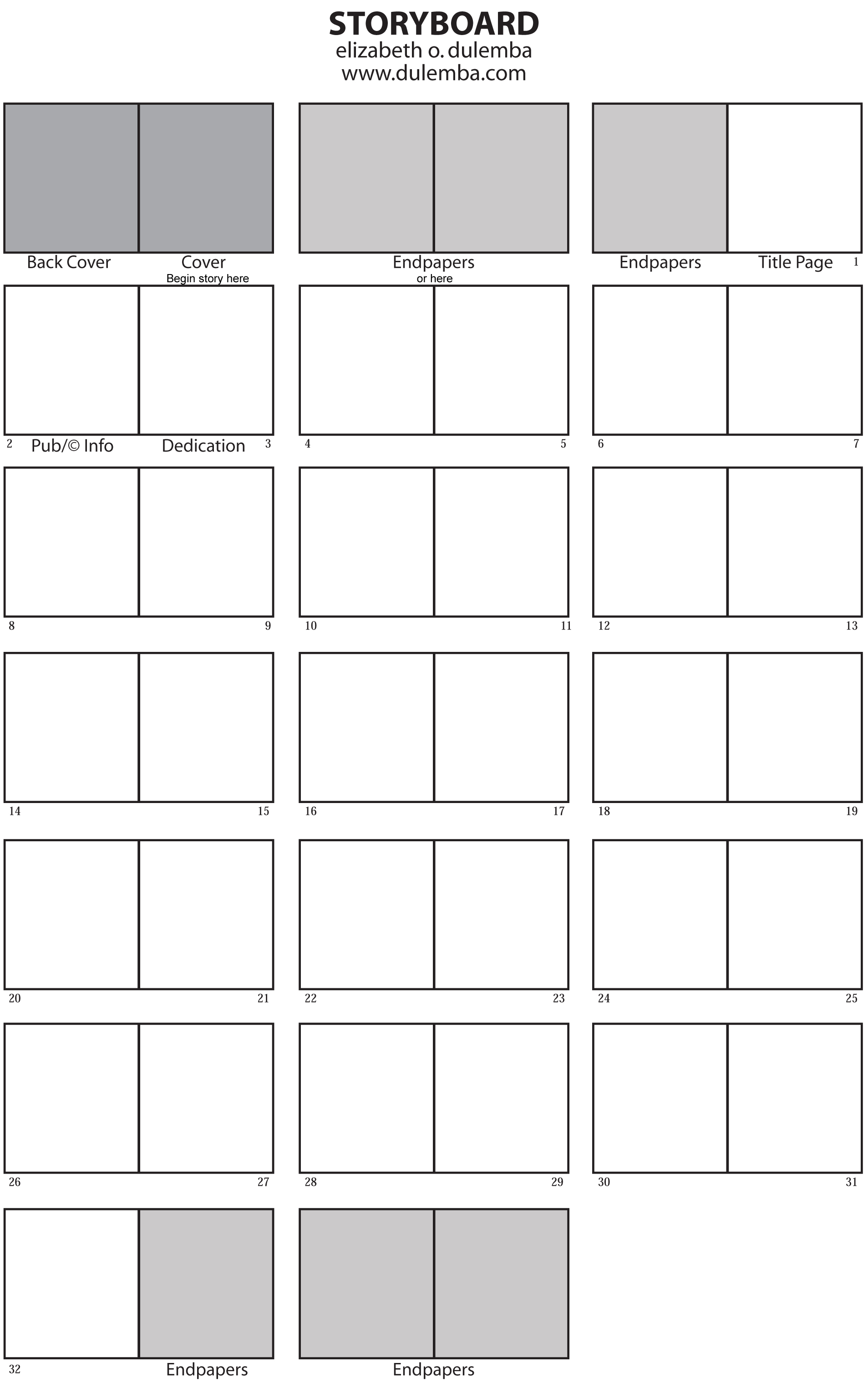 Storyboard Template You Can Use