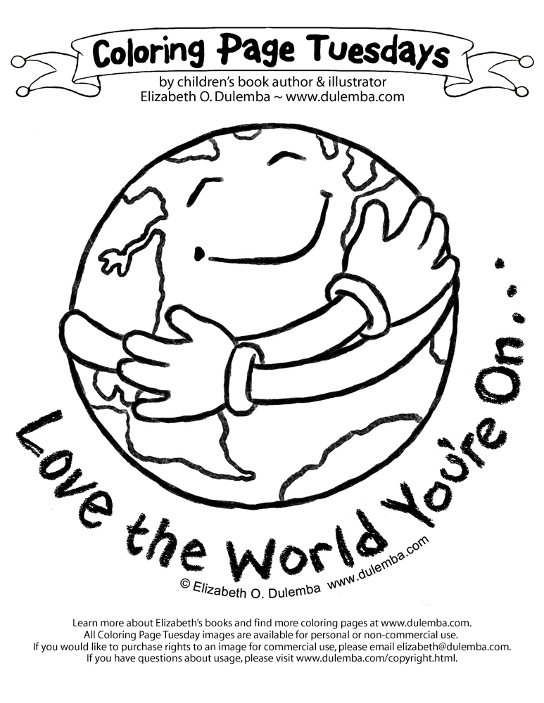 Fun 4 The Children Earth Day Coloring